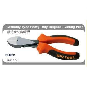 Germany Type Heavy Duty Diagonal Cutting Plier Custom Logo   PL0011