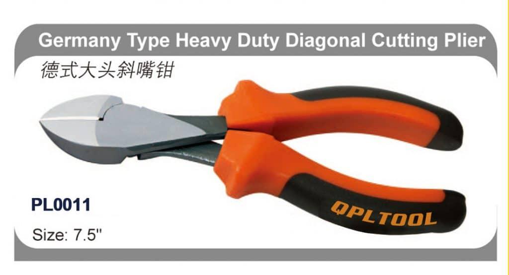 Germany Type Heavy Duty Diagonal Cutting Plier Custom Logo | PL0011