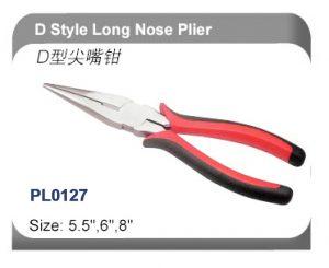 D Style Long Nose Plier   PL0127
