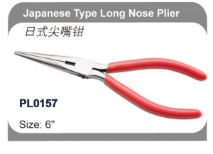 Japanese Type Long Nose Pliers   PL0157