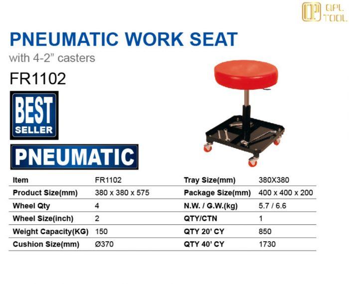 PNEUMATIC WORK SEAT FR1102